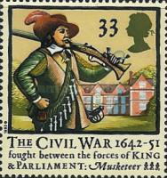 [The 350th Anniversary of the English Civil War, Typ AMP]