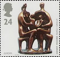 [EUROPA Stamps - Contemporary Art, Typ AOF]
