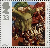 [EUROPA Stamps - Contemporary Art, Typ AOH]