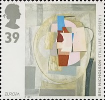 [EUROPA Stamps - Contemporary Art, Typ AOI]