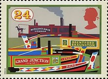 [The 200th Anniversary of the British Canals, Typ AON]