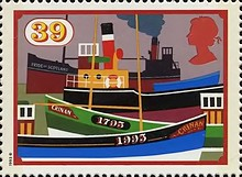 [The 200th Anniversary of the British Canals, Typ AOQ]
