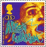 [The Anniversary of H.G.Wells, Science Fiction Writer, Typ ASO]