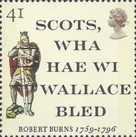 [The 200th Anniversary of the Death of Robert Burns, Typ ATL]