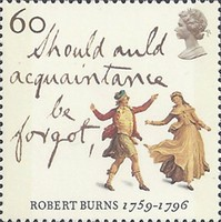 [The 200th Anniversary of the Death of Robert Burns, Typ ATM]