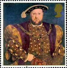[The 450th Anniversary of the Death of King Henry VIII, Typ AVV]