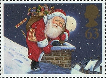 [Christmas Stamps, Typ AXF]