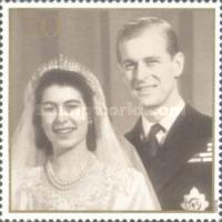 [The 50th Anniversary of the Wedding of Queen Elizabeth II and Prince Philip, Typ AXG]