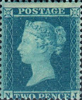 [Queen Victoria, 1819-1901 - Different Watermark, Typ B6]