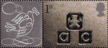 [Greeting Stamps - Larger Issue, Typ BDZ1]