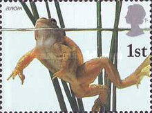 [EUROPA Stamps - Water, Treasure of Nature - Pond Life, Typ BFG]