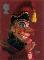 [Puppets - Punch and Judy - Self-Adhesive, Typ BFM1]