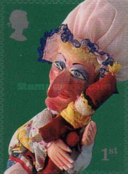 [Puppets - Punch and Judy - Self-Adhesive, Typ BFN1]