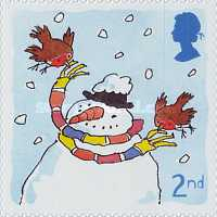 [Christmas Stamps - Self-adhesive, Typ BGA]