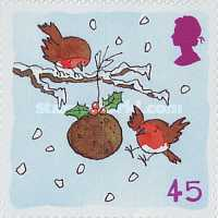 [Christmas Stamps - Self-adhesive, Typ BGD]