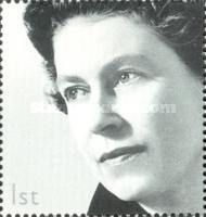 [The 50th Anniversary of Her Majesty The Queen's Accession to the Throne - Lying Watermark, Typ BGQ]