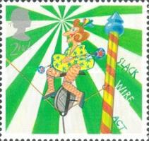 [EUROPA Stamps - The Circus, Typ BHJ]