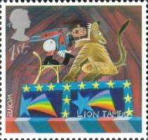 [EUROPA Stamps - The Circus, Typ BHK]