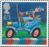 [EUROPA Stamps - The Circus, Typ BHM]