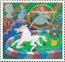 [EUROPA Stamps - The Circus, Typ BHN]