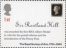 [The 250th Anniversary of the Royal Society of Arts, Typ BOG]