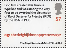 [The 250th Anniversary of the Royal Society of Arts, Typ BOK]