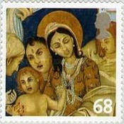 [Merry Christmas - Self-Adhesive Stamps, Typ BSK]