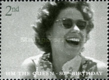 [The 80th Anniversary of the Birth of H.M. The Queen, Typ BTP]