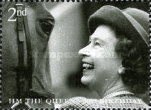 [The 80th Anniversary of the Birth of H.M. The Queen, Typ BTQ]