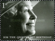 [The 80th Anniversary of the Birth of H.M. The Queen, Typ BTR]
