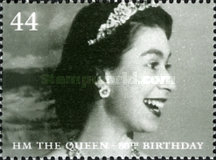[The 80th Anniversary of the Birth of H.M. The Queen, Typ BTT]