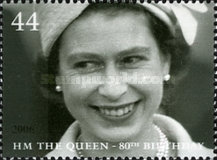 [The 80th Anniversary of the Birth of H.M. The Queen, Typ BTU]