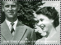 [The 80th Anniversary of the Birth of H.M. The Queen, Typ BTW]