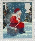 [Merry Christmas - Self-Adhesive Stamps, Typ BVR]