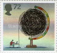 [World of Invention - Self-Adhesive Stamps, Typ BXF]