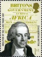 [The 200th Anniversary of the Abolition of the Slave Trade, Typ BXI]