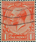[King George V, 1865-1935 - New Watermark, Typ BY4]