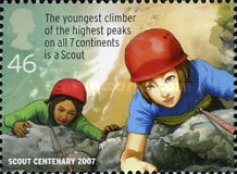 [EUROPA Stamps - The 100th Anniversary of Scouting, Typ BYR]