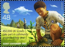 [EUROPA Stamps - The 100th Anniversary of Scouting, Typ BYS]