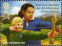 [EUROPA Stamps - The 100th Anniversary of Scouting, Typ BYT]