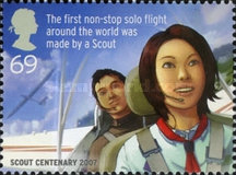 [EUROPA Stamps - The 100th Anniversary of Scouting, Typ BYU]