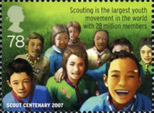 [EUROPA Stamps - The 100th Anniversary of Scouting, Typ BYV]