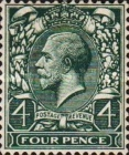 [King George V, 1865-1935 - New Watermark, Typ BZ11]