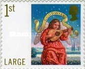 [Merry Christmas - Self-Adhesive Stamps, Typ BZZ1]