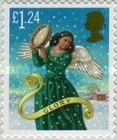 [Merry Christmas - Self-Adhesive Stamps, Typ CAB]