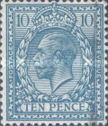 [King George V, 1865-1935 - New Watermark, Typ CB6]