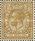 [King George V, 1865-1935 - New Watermark, Typ CB8]