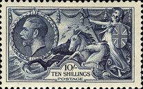 [King George V - No.141-143 With New Drawing, Typ CC12]