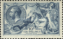 [King George V - No.141-143 With New Drawing, Typ CC9]