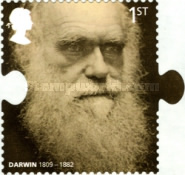 [The 200th Anniversary of the Birth of Charles Darwin - Self-Adhesive Paper, Typ CDW]